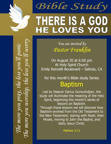 Free Church Flyer Templates Free printable and editable templates - Sample Invitation Letter