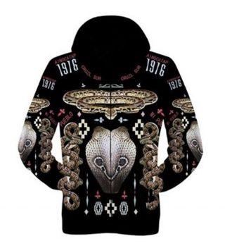 f3379cbf97f6 Cheap mens 3D cobra hoodie for autumn