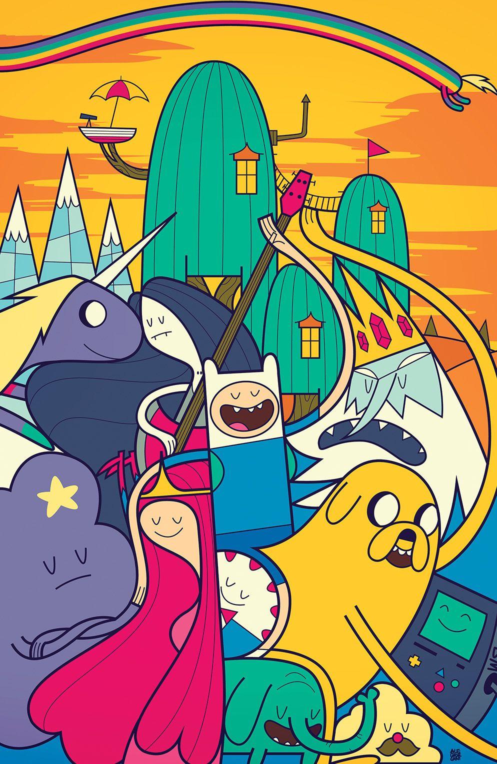 Award-winning 'Adventure Time' Creative Team Passes the ...