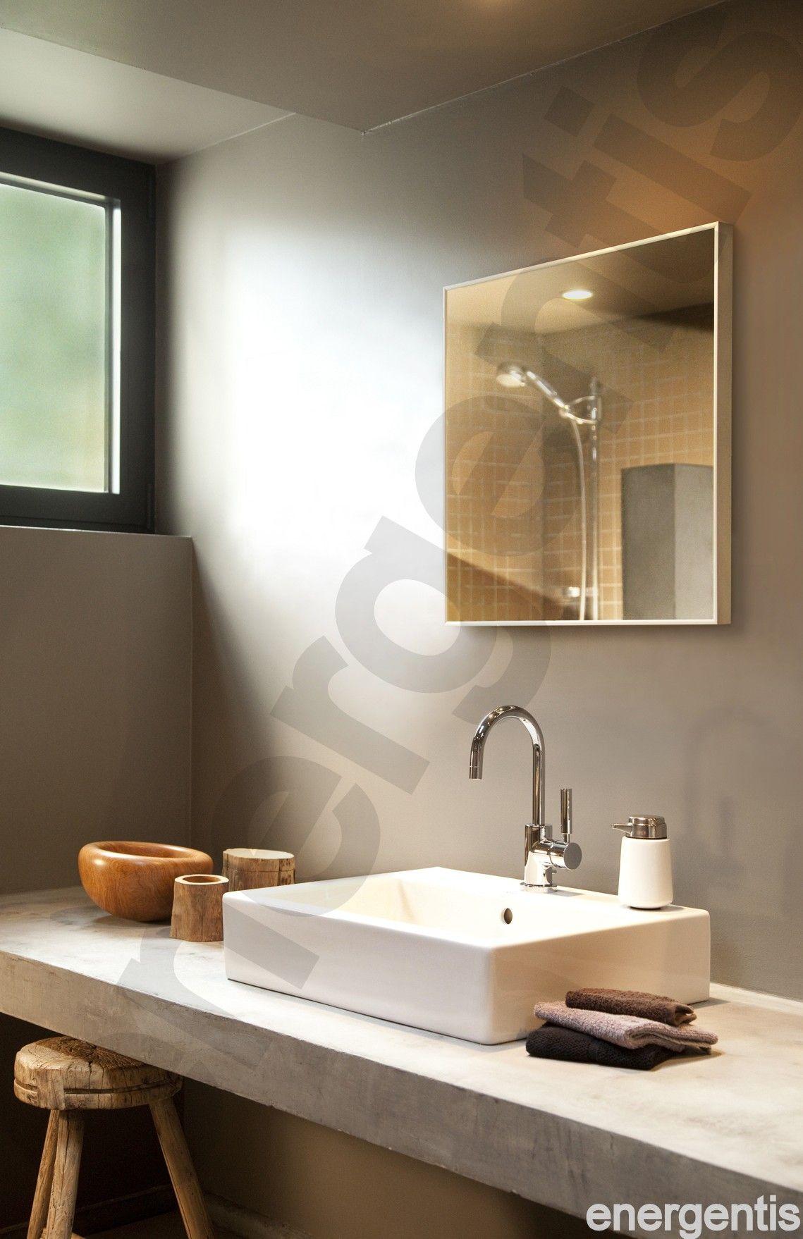 vierkante wasbak hoge kranen badkamer pinterest