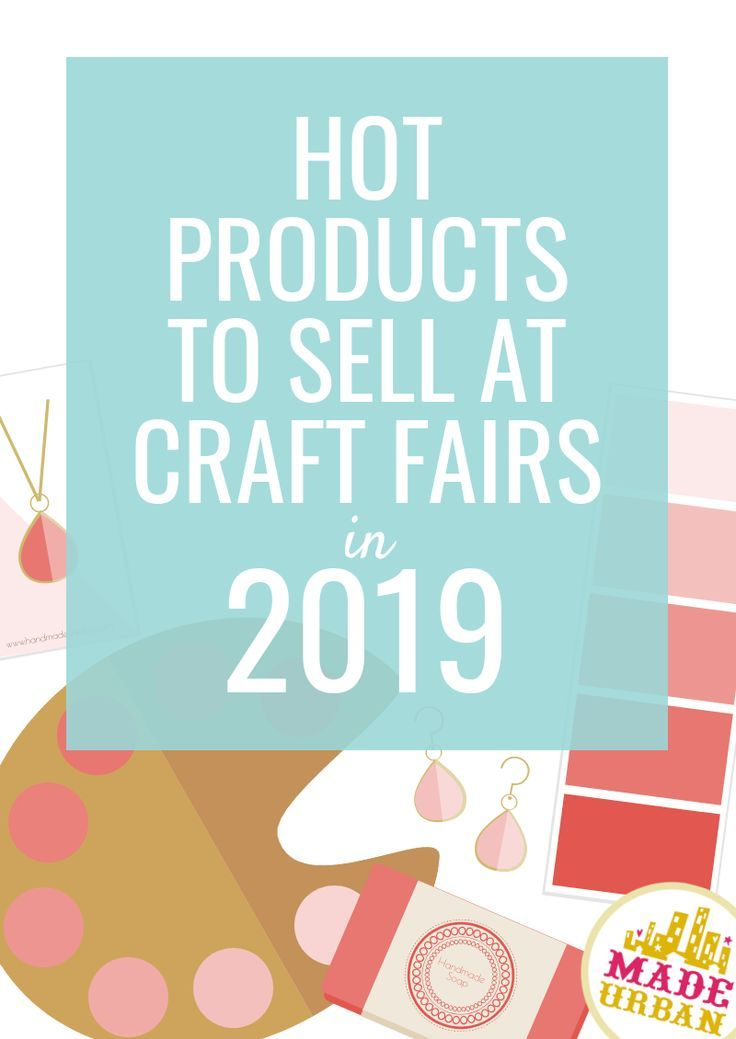 Craft Trends for 2019 #craftfairs