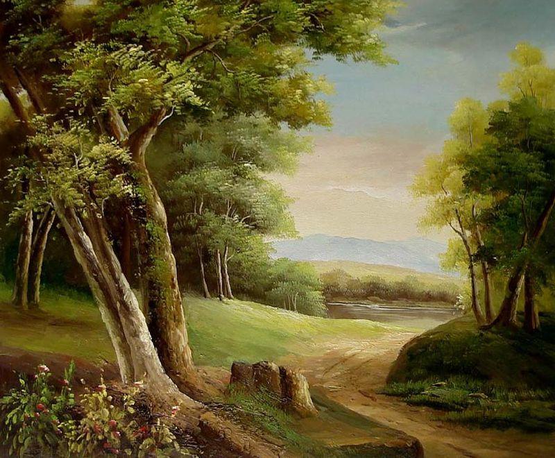 Famous Landscape Oil Painting Reproductions | Cuadros de ...