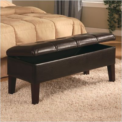Bench For The End Of The Bed Storage Bench Bedroom Storage Bench Seating Leather Storage Bench
