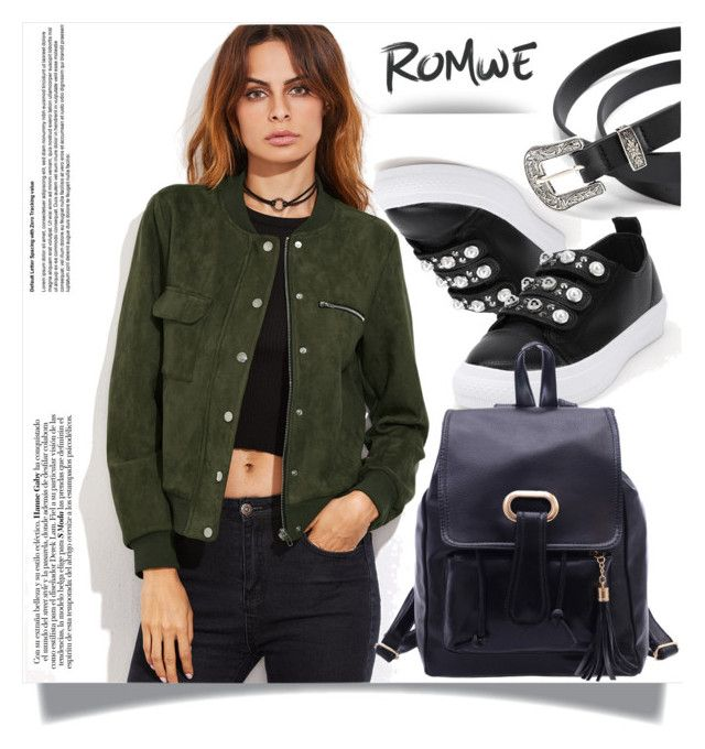 """""""Romwe 13"""" by melissa995 ❤ liked on Polyvore"""