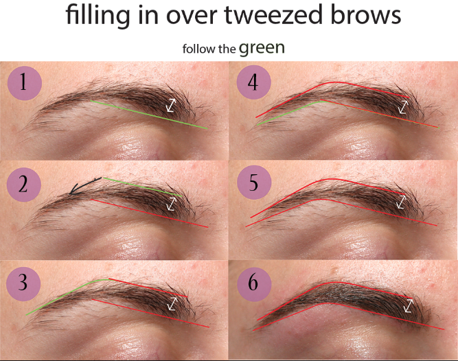 Manucure And Makeup Eyebrow Tweezing Tutorial Beauty Ideas And