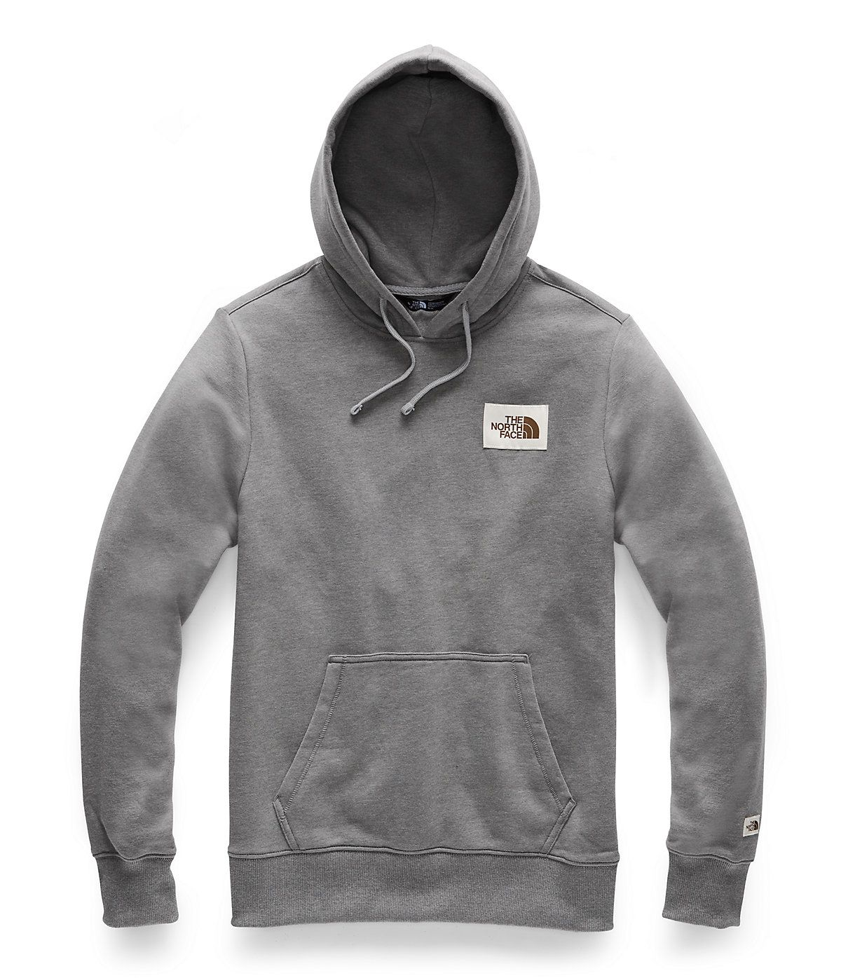 Mens The North Face Tekno Hoodie Mid Gray Size Large Msrp $99