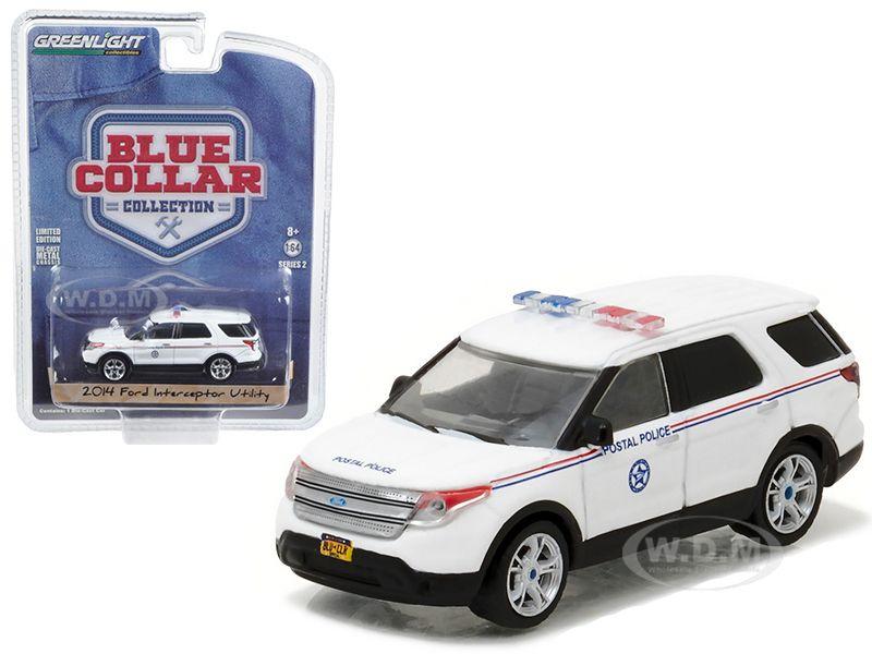 2014 Ford Explorer United States Postal Service Usps Postal Police 1 64 Diecast Model Car By Greenlight 2014 Ford Explorer Ford Explorer Postal Police