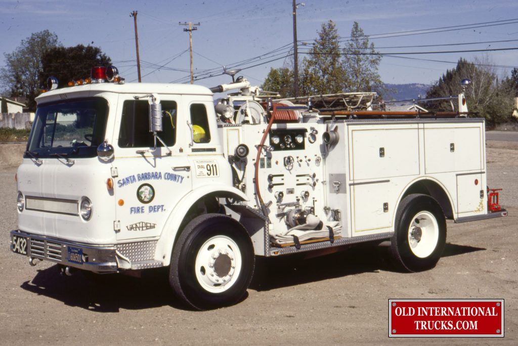Old International Photos From The COE Fire Trucks • Old