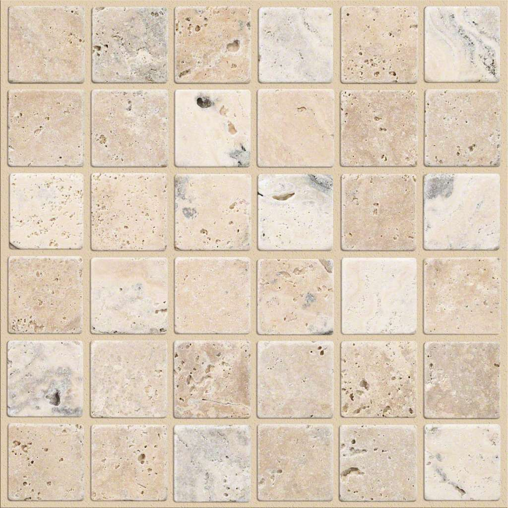 Turnbury 2x2 Mosaic Latte Cs78h Latte Tile And Stone Wall And Flooring Tiles Travertine Mosaic Floor Tile Mosaic Flooring