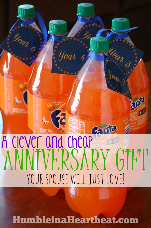 inexpensive anniversary gifts for him