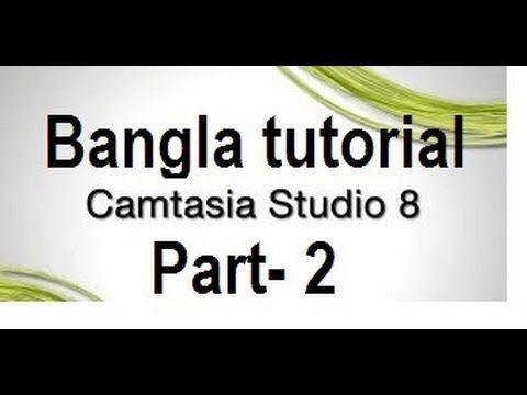 Camtasia studio 8  video tutorials Part-2  Advance tutorials  how can us...