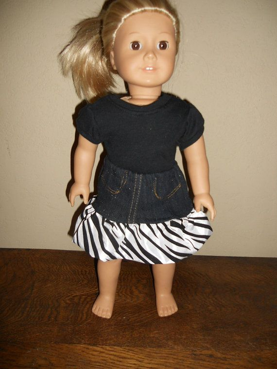 18 Inch American Girl Doll Clothes Matching Doll and Girl Jean and ...