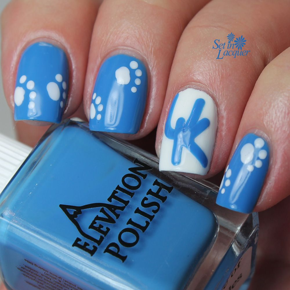 UK - University of Kentucky Wildcats nail art #UK | Say it with nail ...
