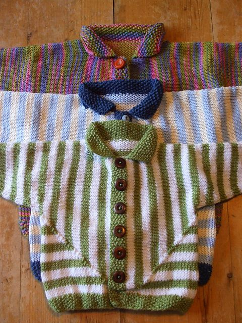 ad1a81850 One Piece Baby Jacket. pattern by Jane Terzza