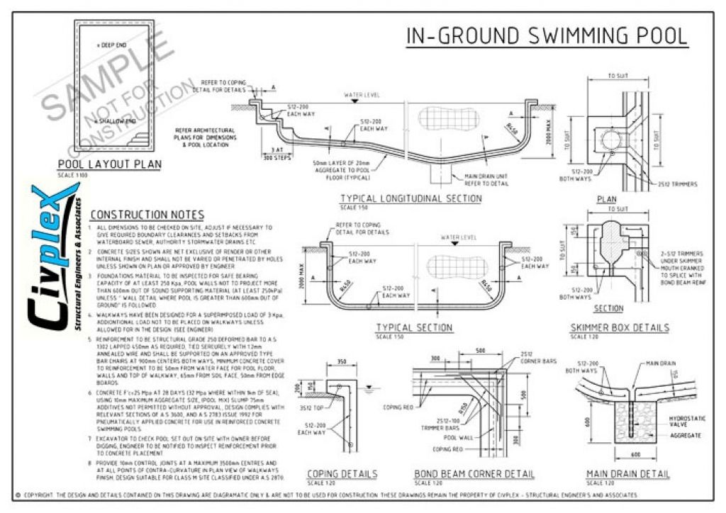 Swimming Pool Structural Design Home Design Ideas Swimming Pool Drawing Details Pdf In 2020 Pool Drawing Swimming Pool Drawing Swimming Pools