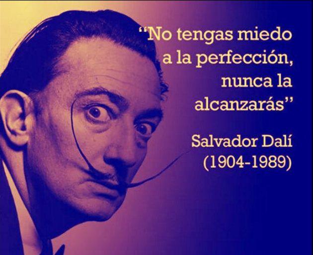 14 Frases De Salvador Dalí El Excéntrico Artista Que
