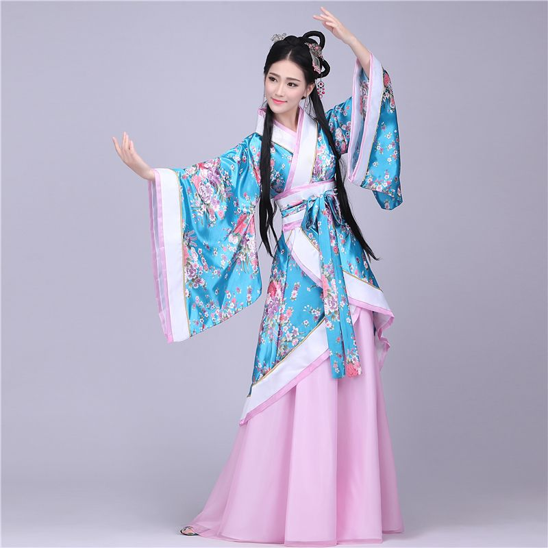 4787d882f Traditional Chinese Beautiful Dance Hanfu Dress Chinese Dynasty Costume  Ancient Chinese Tang Costume Hanfu Women's Hanfu Dresses