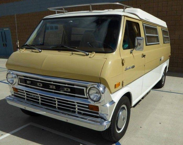 Hemmings Find Of The Day 1972 Ford Econoline E200 Custom Vans