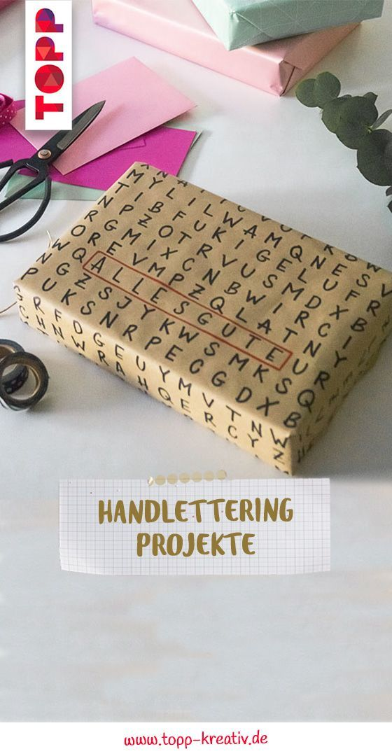 Meine Handschrift - Mein Handlettering #creativegifts