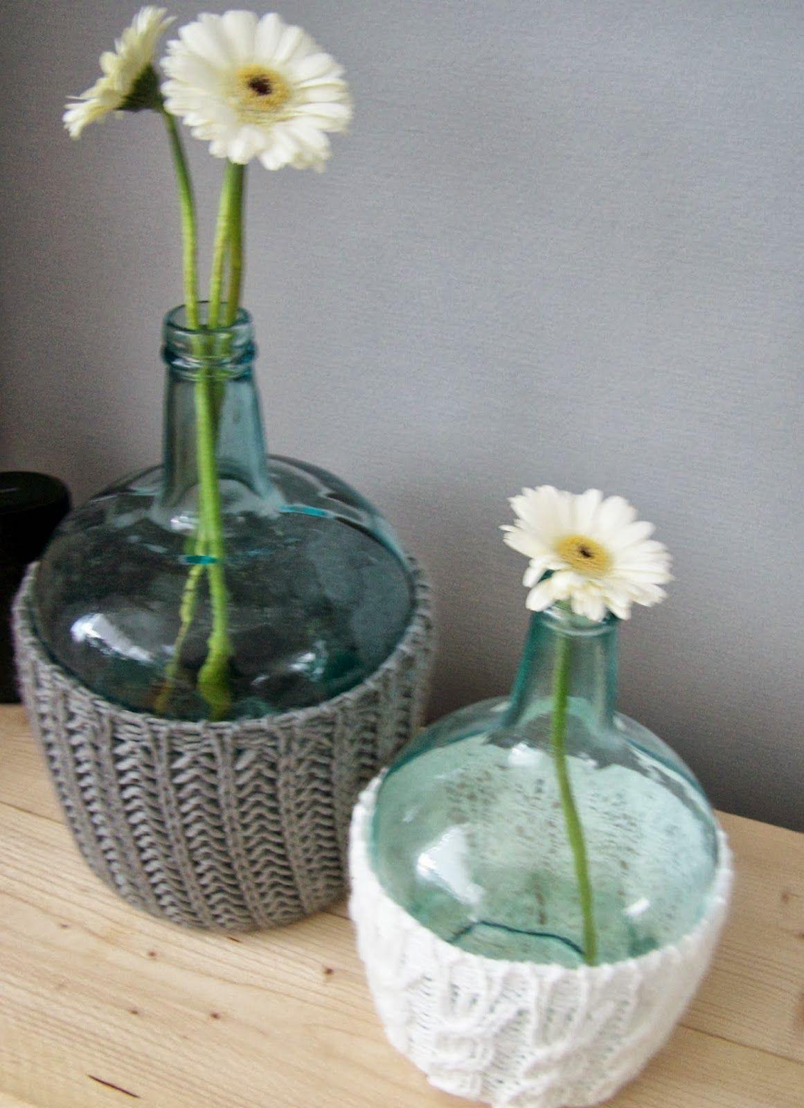Groene glazen fles vaas van de action lekker warm in een for Decoratie fles