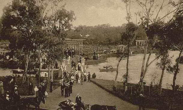 Parque 3 de Febrero_1920 Buenos Aires_Argentina