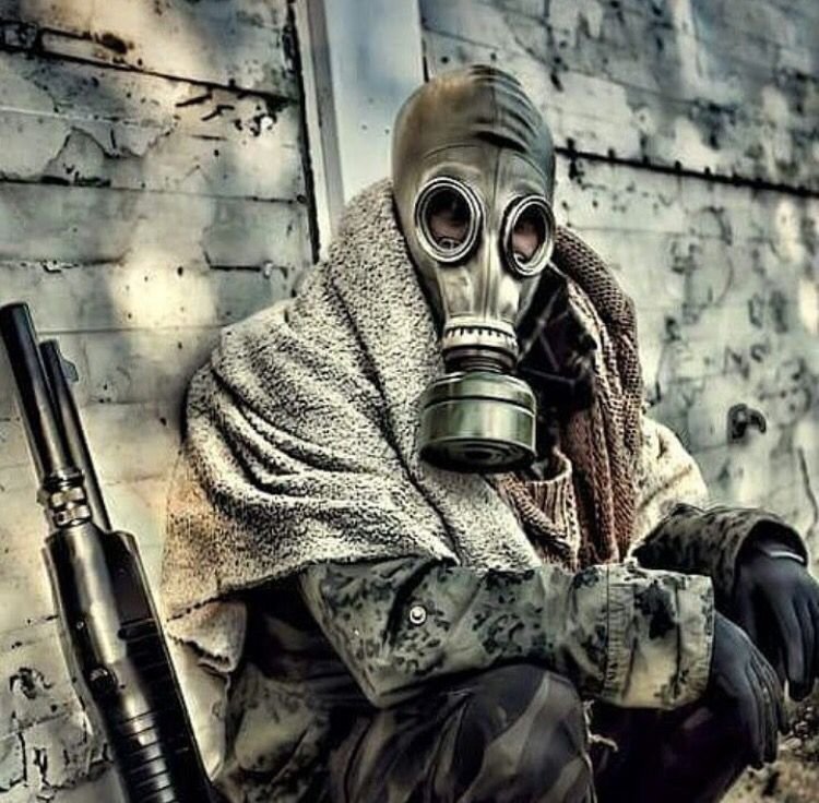 Warriors Into The Wild Ending: Gas Mask Art, Post Apocalypse