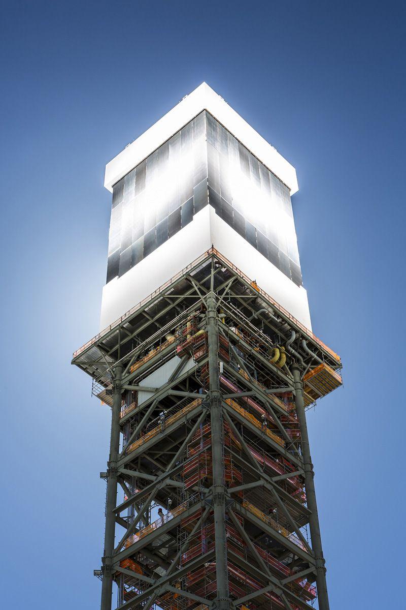 Con una capacità di 392 megawatt, la centrale solare a