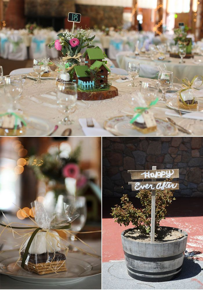 Charming, rustic wedding in the moutains