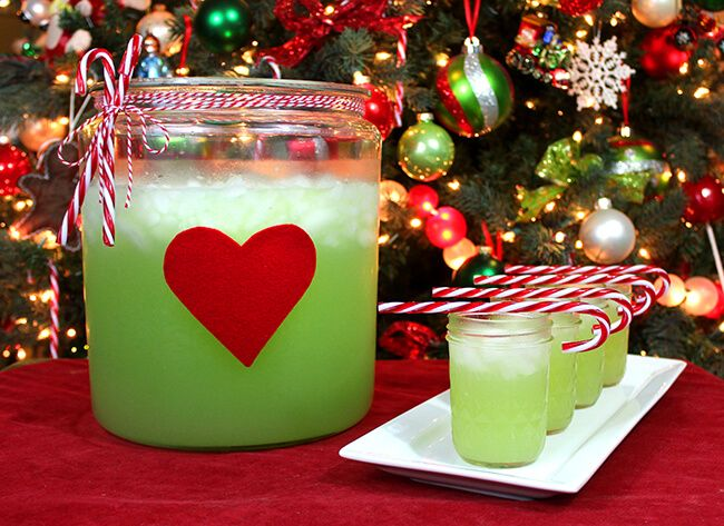 Christmas Grinch Juice Recipe – Popsicle Blog