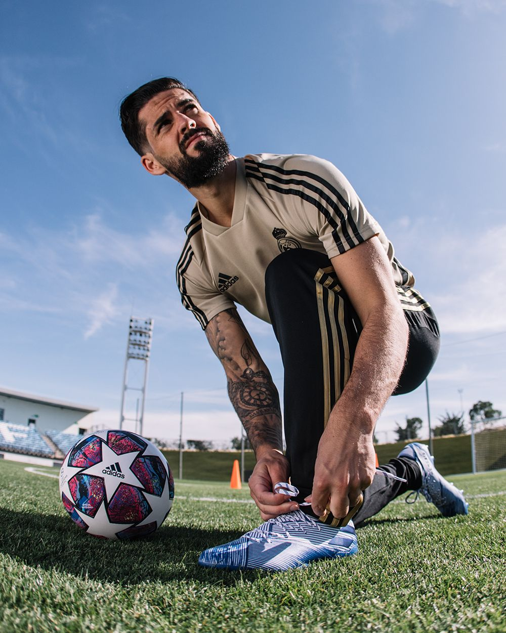 Adidas Football Soccer Realmadrid Ucl Championsleague Isco