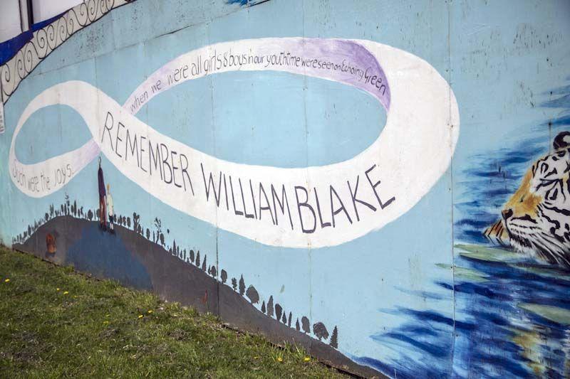 The Line Art Walk London : In lambeths furnace: william blakes south london walk cooltan