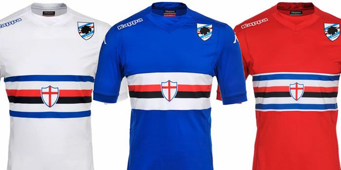 4a803112e0674 Sampdoria 2014-15 Kappa Home