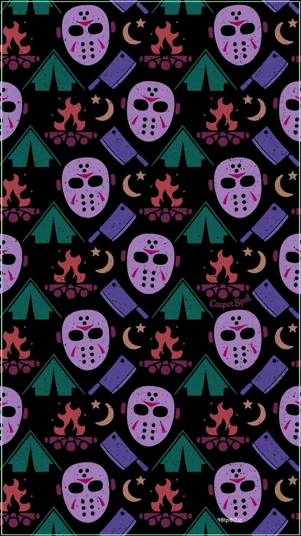 Halloween Camping In Oh 2020 Camping with Jason Voorhees in 2020 | Halloween wallpaper