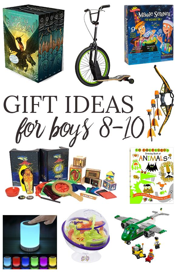 Gift Ideas for Boys Ages 810 Christmas gifts for boys