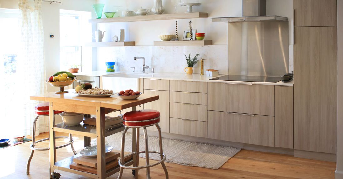 Check out this modern kitchen from designer Christina Sidoti ...