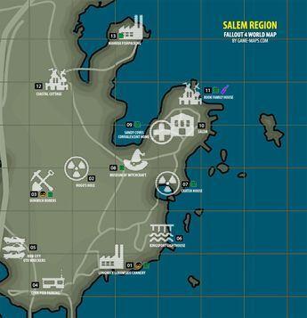 Fallout 4 Salem Region Map Fallout 4