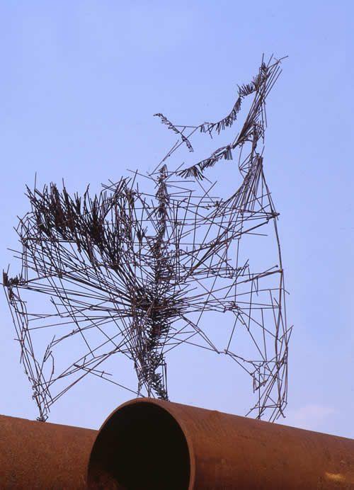 Handgefertigt Abstract Zeitgenössisch Liebespaar Auf Pferd Reine Bronze Skulptur Latest Fashion Bronze
