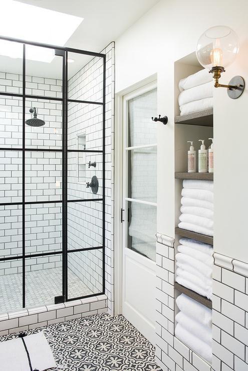alcove Towels Storage