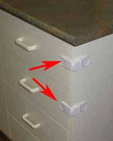 Child Proofing Kitchen Drawers Diy Baby Proof Drawer