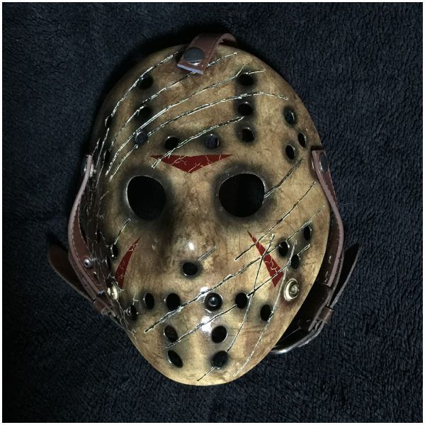 Super Deluxe Jason Hockey Mask Freddy V Jason Mad About Horror Hockey Mask Jason Mask Mask
