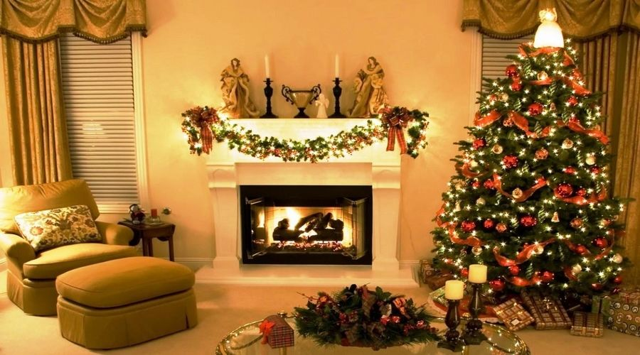 red green and gold christmas tree ideas colorful lights - google