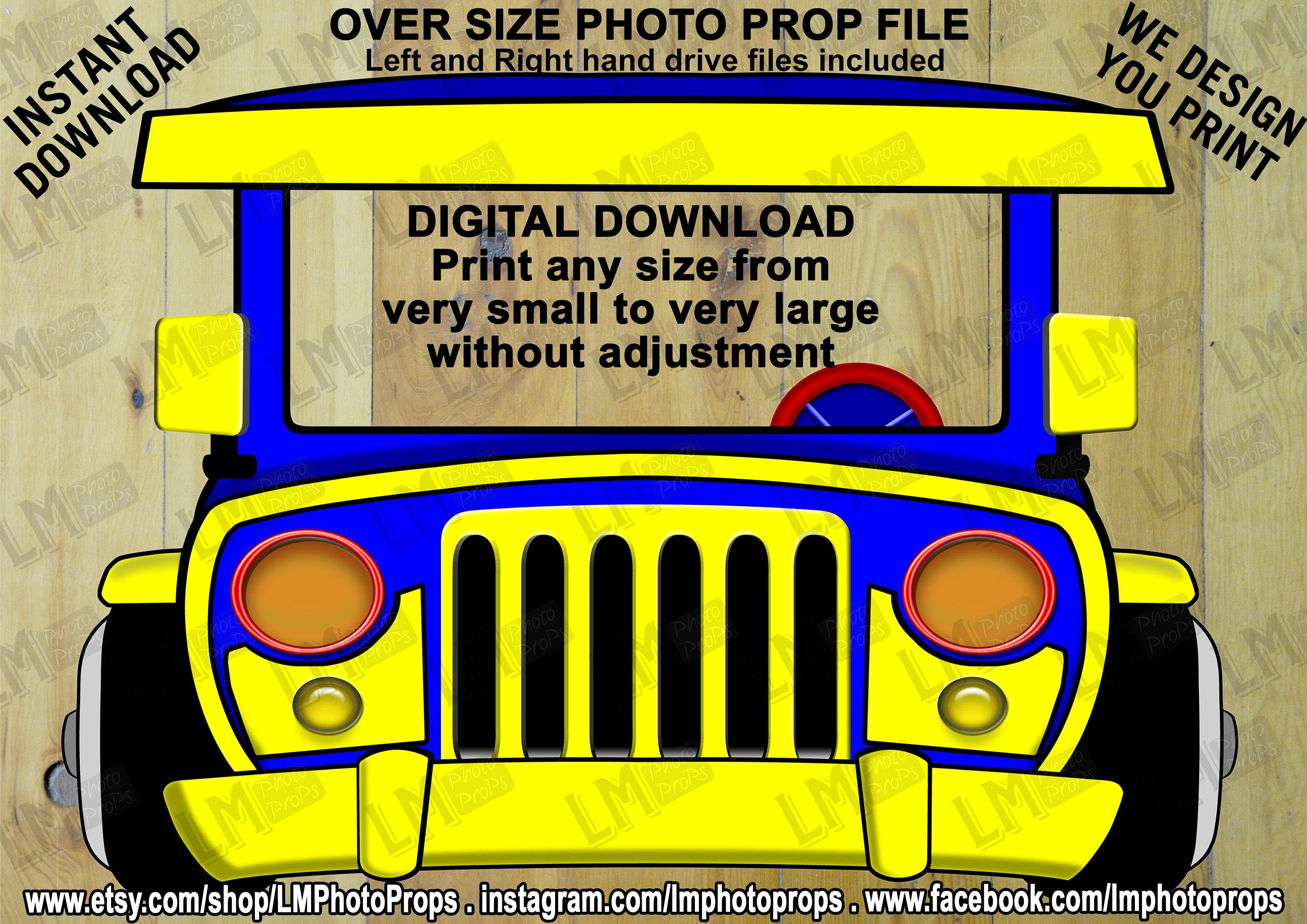 Jeepney Dyipni Instant Download Digital Download Philippines