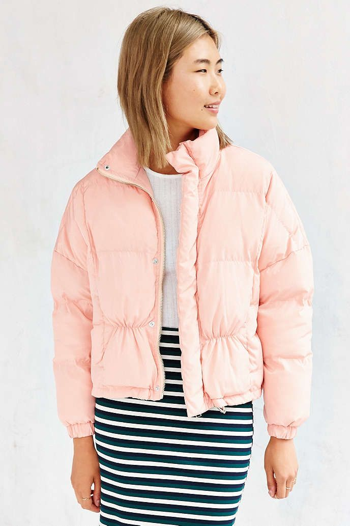 Unif Certa Puffer Jacket Urban Outfitters Rags