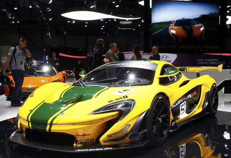 McLaren P14   Top 10 Most Expensive Sports Cars 2016