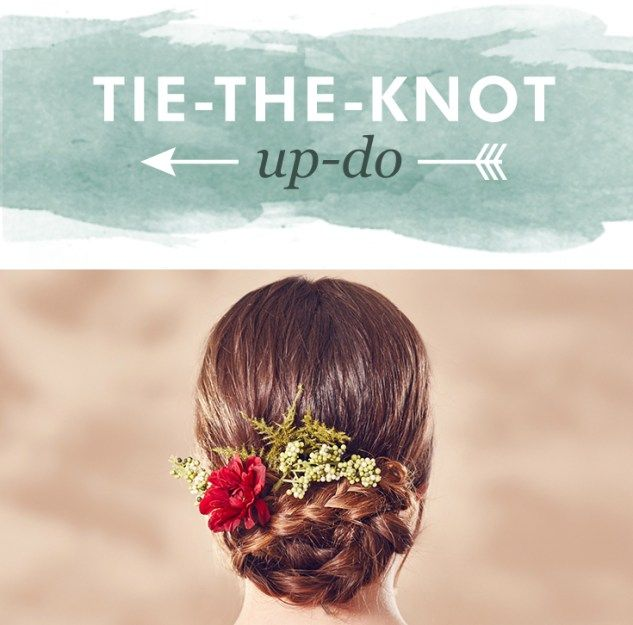 Tie-The-Knot Updo