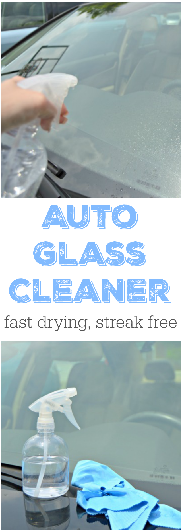 how to make auto glass cleaner home cleaning hacks and organizing ideas car window cleaner. Black Bedroom Furniture Sets. Home Design Ideas