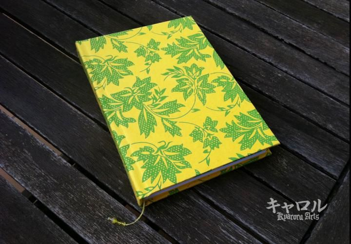 Libro de notas, Notebook, Hojas de viña., New by Kyaroru in category Paper and Stationery/Books and Pads. Located in Sabadell, España €25,00 on ezebee.com