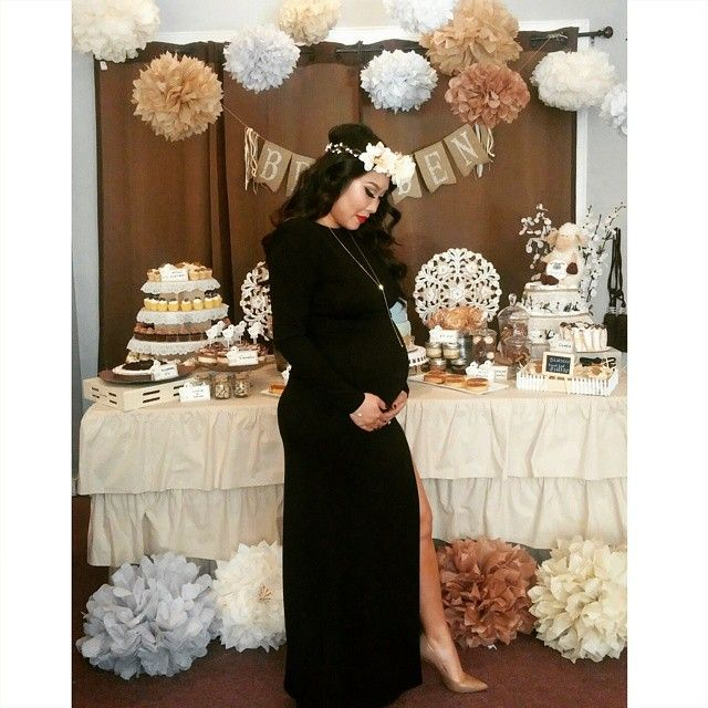 1cddd4761a365 Baby Shower Gender Reveal, Baby Shower Outfits, Outfit Para Baby Shower,  Baby