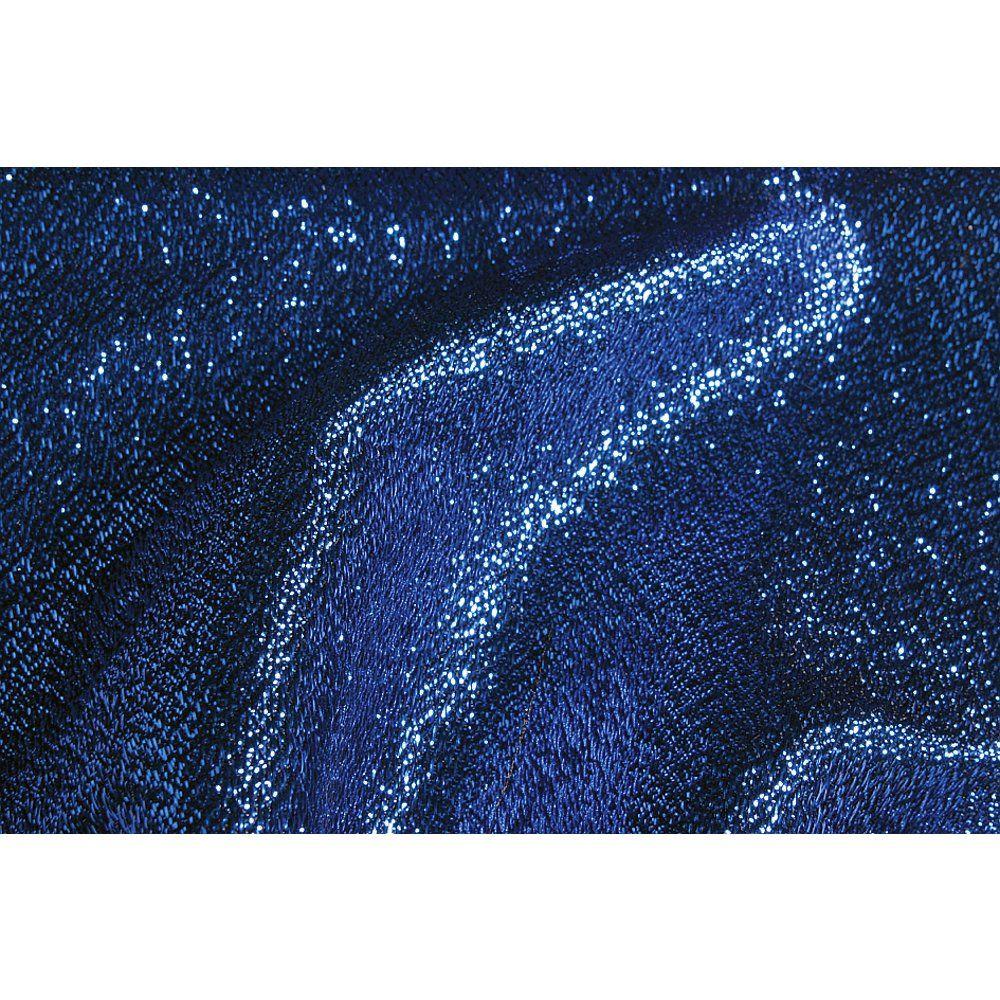 Glanzstoff Casino blau, 308 cm breit