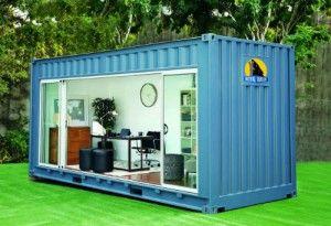 Un container comme bureau ça vous dit maison shipping